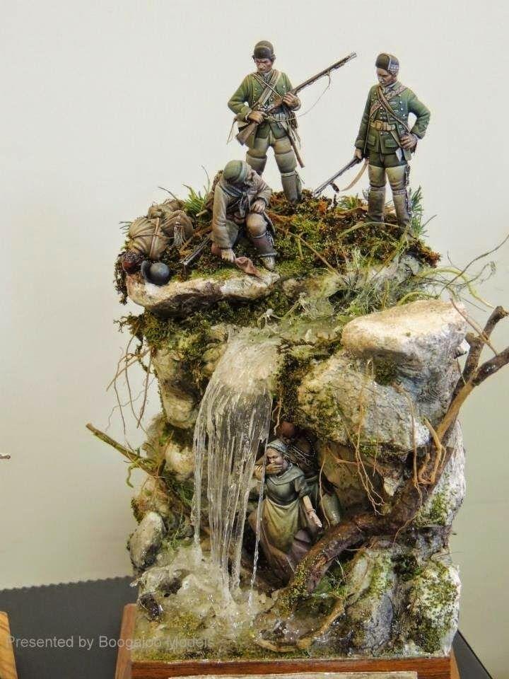 Plastic Terrain Tree Stump for Army Soldier Scene /& Dinosaur Landscape Kits