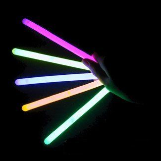 """4"""" Lumistick Glow Stick Light Sticks Mixed Colors (Tube of 25) by Lumistick. $9.95. The best brand of glow sticks on the market. You will receive 1 tube of 25 LumiStick luminescent light sticks. Your order will also contain 25 strings so you can wear them as a necklace or hang them anywhere you want. Once they start glowing, LumiStick brand Premium glow light sticks will last you all night. They will glow super bright for 8 - 12 hours. Then, they will start to fad..."""