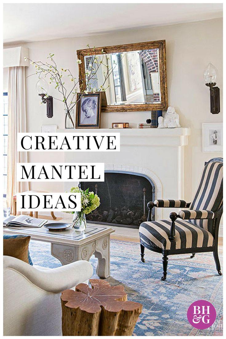Fireplace Mantel Decorating   Mantel ideas, Fireplace mantel and ...