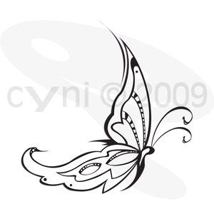 butterfly tattoo designs italic style Small tribal tattoos