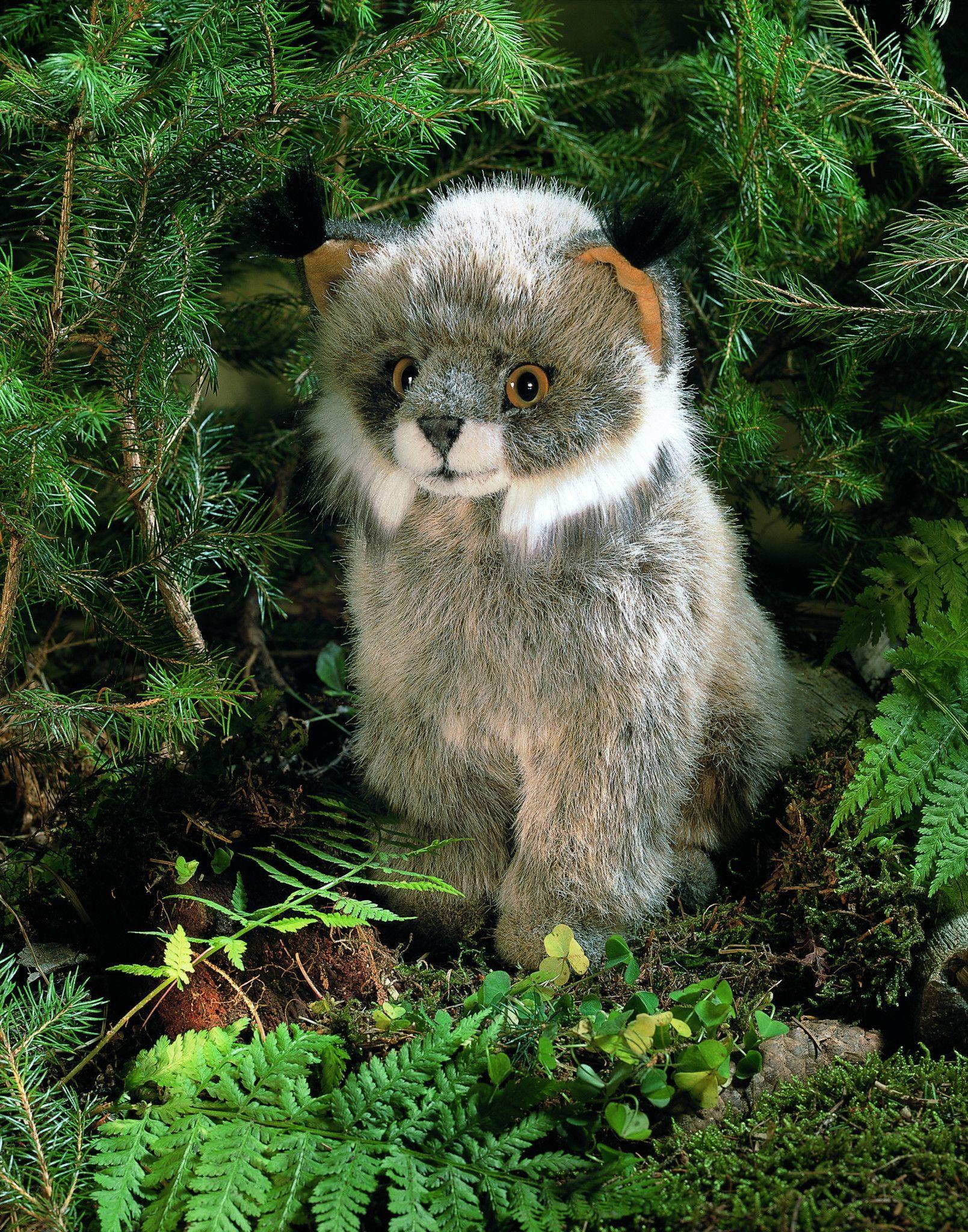 """Juri"" Lynx Animals, Plush stuffed animals, Woodland animals"