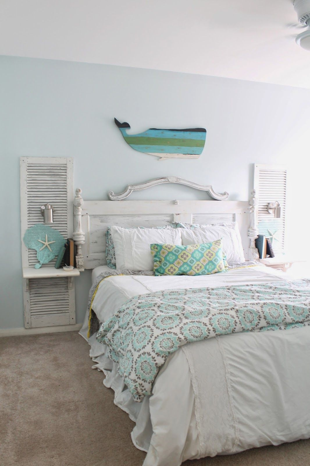 Bettwäsche Shabby The Ragged Wren Shabby Beachy Bedroom Coastal Decor Ideas