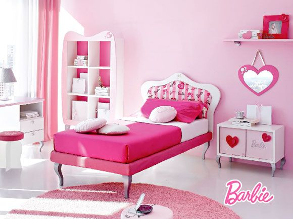 Barbie 50th anniversary - Doimo Cityline - Barbie\'s Room / camerette ...