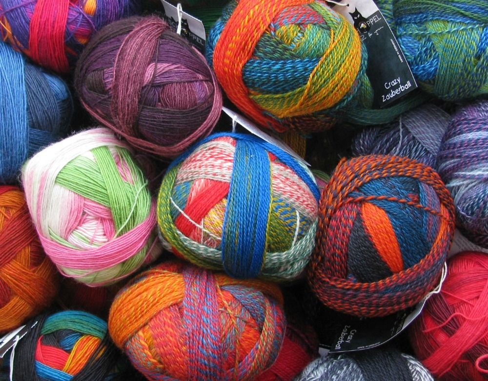 Schoppel-Wolle Zauberball and Zauberball Crazy yarn | Crochet & Knit ...