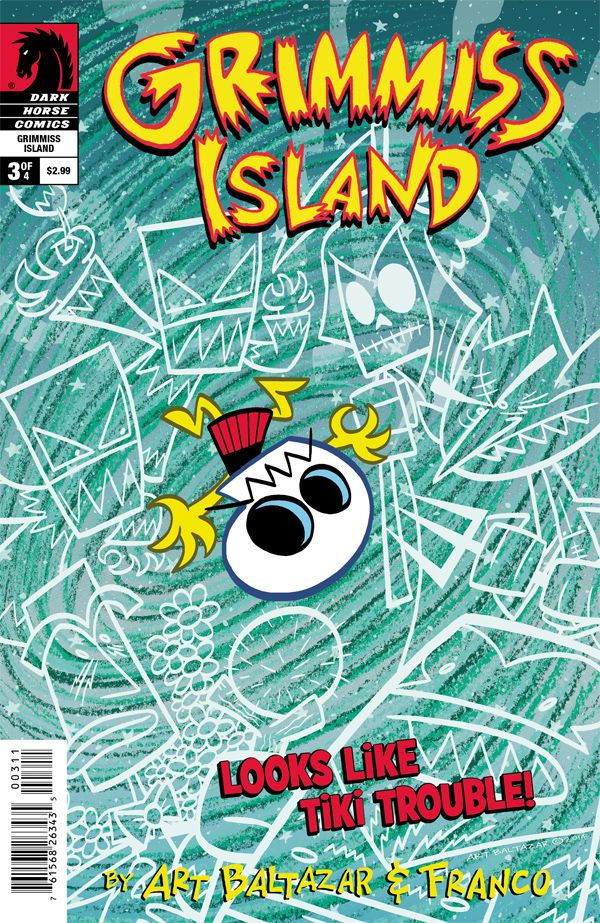 Preview: Itty Bitty Comics: Grimmiss Island #3,   Itty Bitty Comics: Grimmiss Island #3 Story: Art Baltazar, Franco Art: Art Baltazar Cover: Art Baltazar Publisher: Dark Horse Publication Dat...,  #All-Comic #All-ComicPreviews #ArtBaltazar #Comics #DarkHorse #Franco #GrimmissIsland #IttyBittyComics #Previews