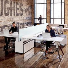 😍What a creative workspace?! #archiparti #click #followme Learn awesome ideas...,  #archiparti #Awesome #Click #creative #followme #ideas #Learn #whiteofficeinteriorreception #workspace