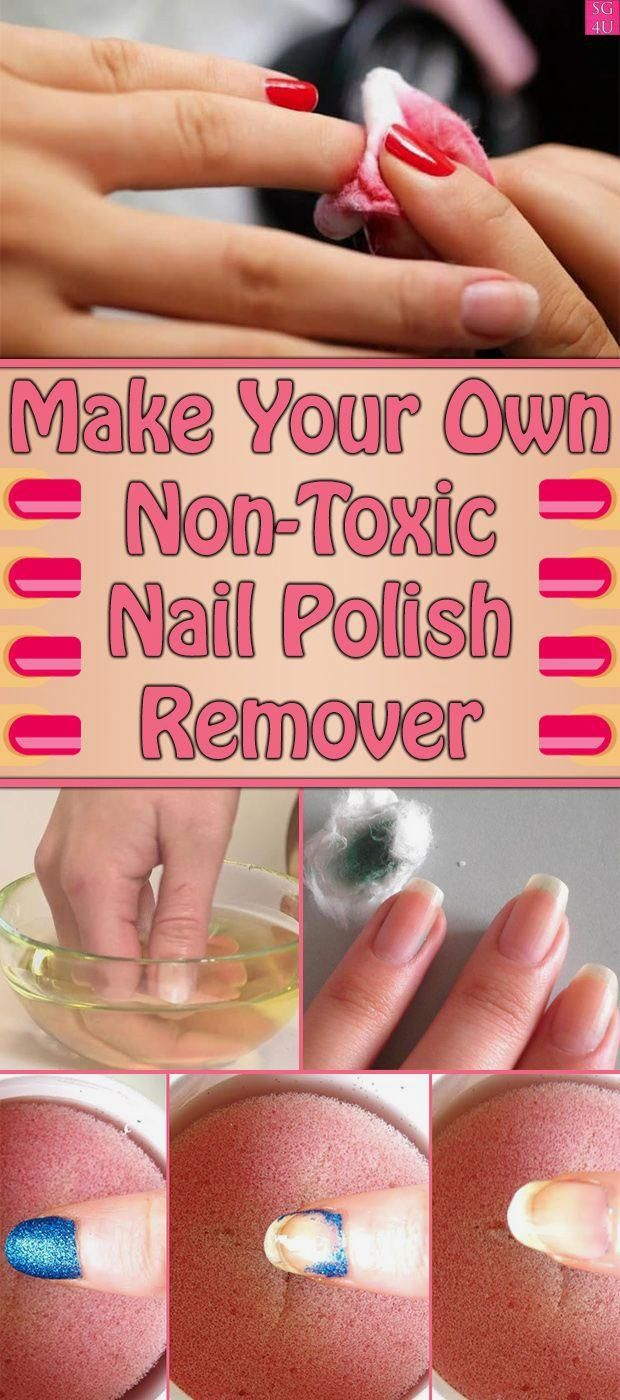 Make Your Own Non-Toxic Nail Polish Remover – My Blog