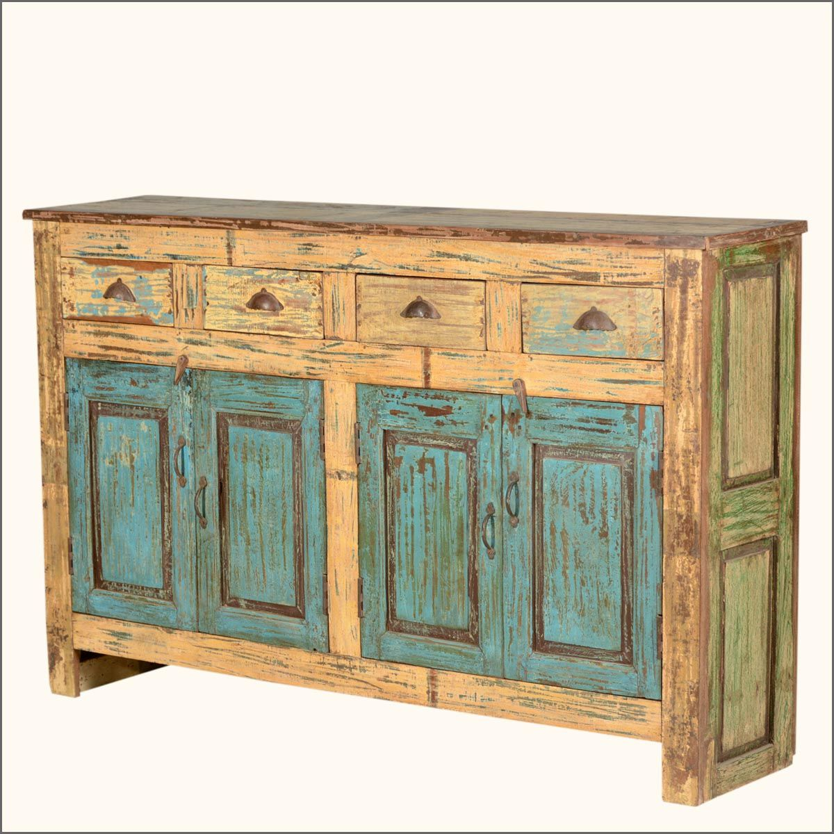 Add The Natural Colors Of Old Reclaimed Wood To Your Home Decor