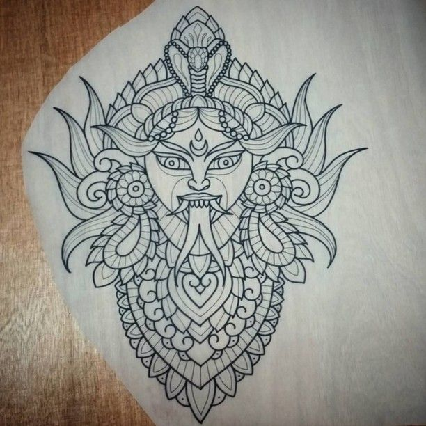 Tattoo design by @seven_echek