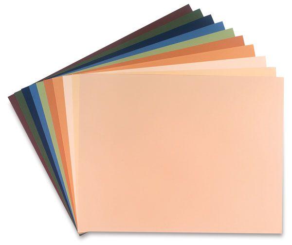 Canson Mi-Teintes Bright Colors Paper Assortment Bright Colors