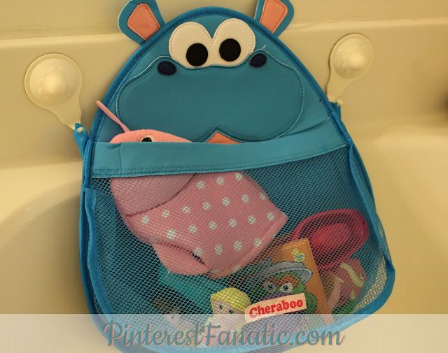 Looking for an adorable way to keep your child's bath toys organized? Check out #HurleyHippo