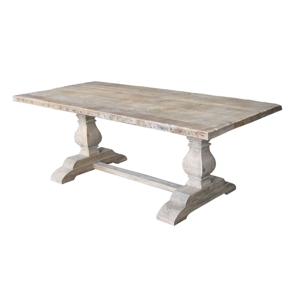 Four Hands Hughes Durham Dining Table Trestle Dining Tables