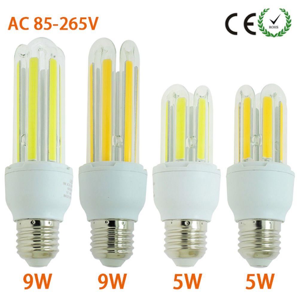 Ikeacasa E27 5w 9w Led Cob Energy Saving Lamps 110v 220v 240v Ac 360 Degree Led Corn Light Bulb White Warm White Price Energy Saving Lamp Save Energy Lamp