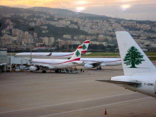 Lebnan airport in Beirut