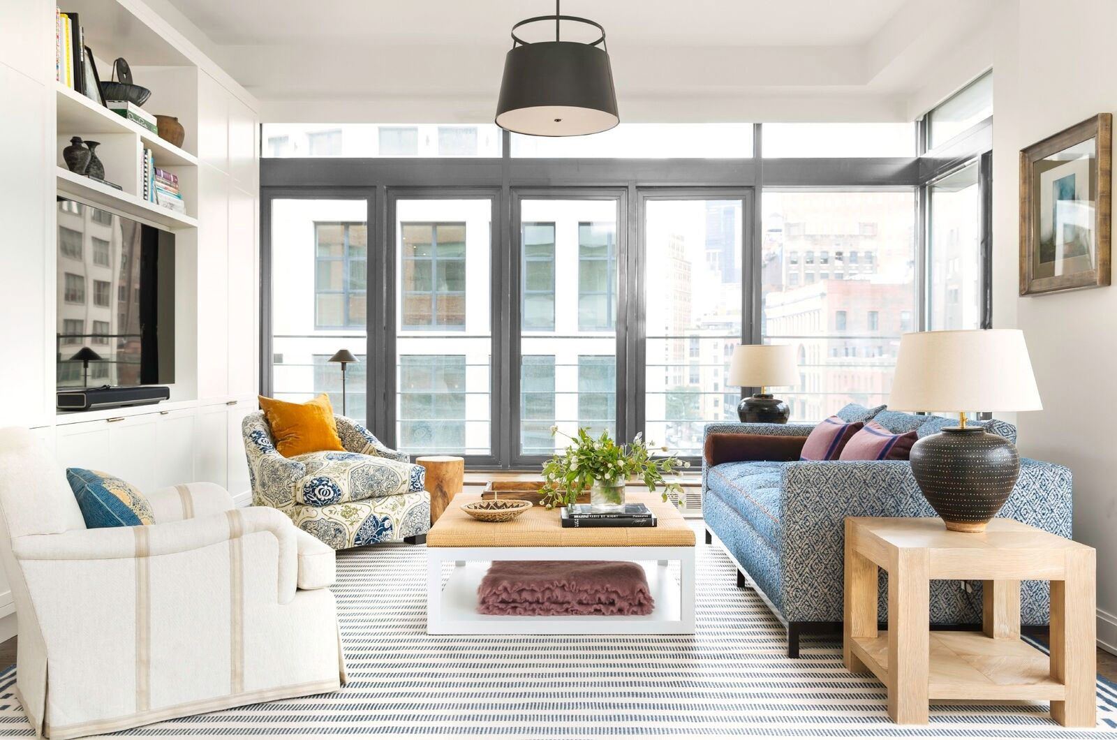 A Downtown Manhattan Apartment That\'s Filled with Uptown Pattern and ...