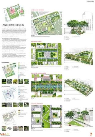 Architectural Presentation Board Layout Examples