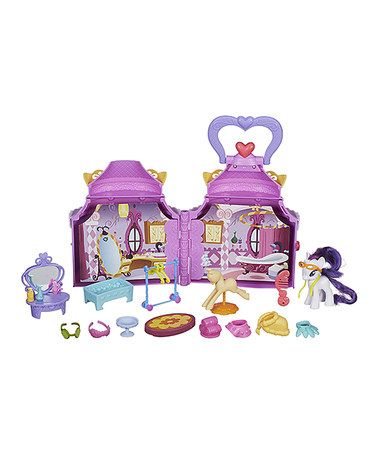 Look what I found on #zulily! My Little Pony Rarity Boutique Play Set #zulilyfinds
