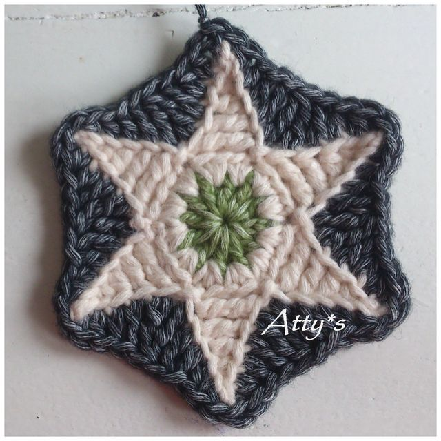 Star Hexagon Pattern (Atty\'s)