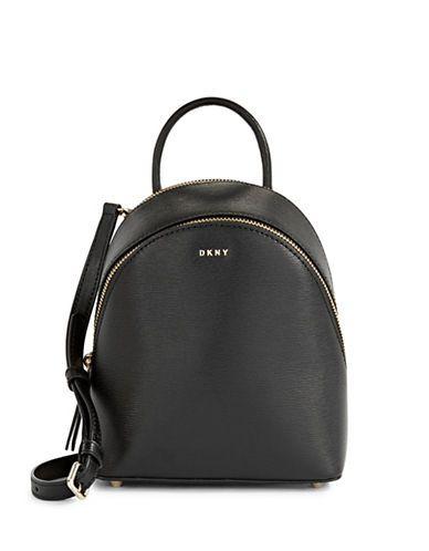 fa2b72ec4b68 DKNY . #dkny #bags #leather #backpacks # | Dkny | Leather Backpack ...