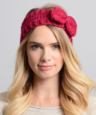 This Berry Bow Head Wrap is perfect! #zulilyfinds