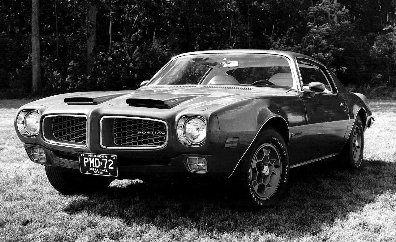Firebird parts pontiac vintage