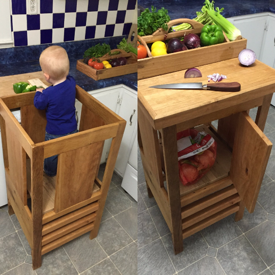 Learning Tower Kitchen Helper Intuitive Craftworks In 2019