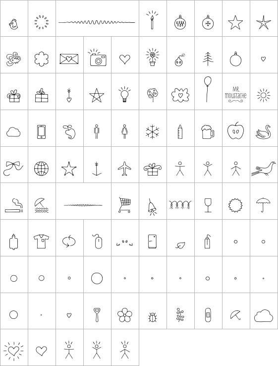 Mr Moustache Dingbats Regular Ot Fontshop Font Shop Dingbats Typography Fonts