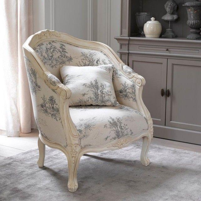 fauteuil berg re nottingham la redoute interieurs shabby chic et romantisme en 2018. Black Bedroom Furniture Sets. Home Design Ideas