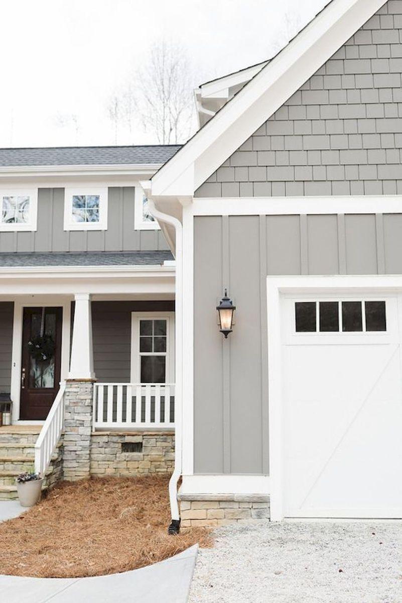 Gorgeous modern farmhouse exterior design ideas (68 ...