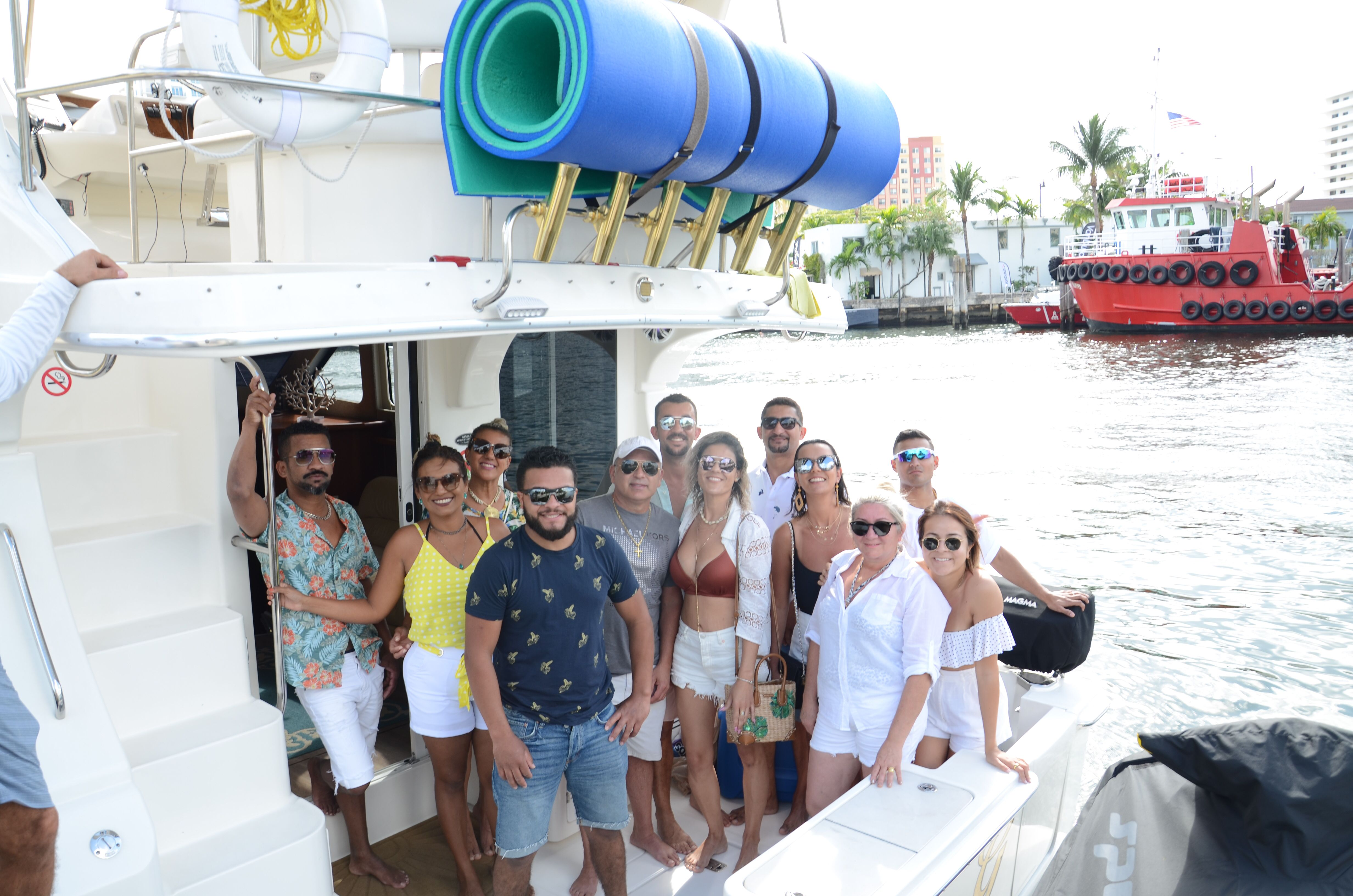Clients From Fort Lauderdale In Miami On This Beautiful 40