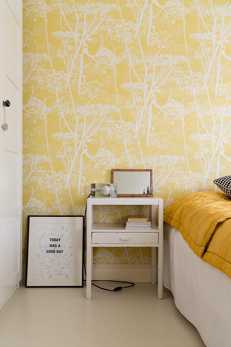 Cow Parsley Flower Wallpaper | bnb dust sprite room | Pinterest ...