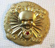 Bones & Jewels - Eventide - Satin Gold Finish - New Unactivated Geocoin
