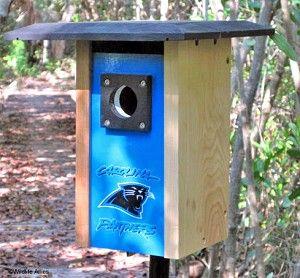 Carolina Panthers NFL Bluebird/Songbird House