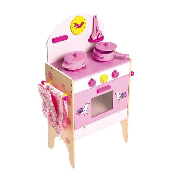 Horno de cocina de #madera de juguete con 8 accesorios. Para los ...