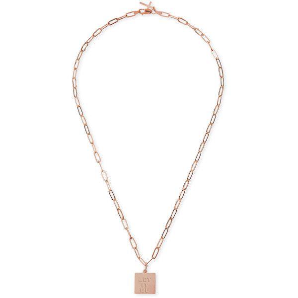 Katie Design Jewelry Rose Gold Vermeil Let It Be Petite Charm