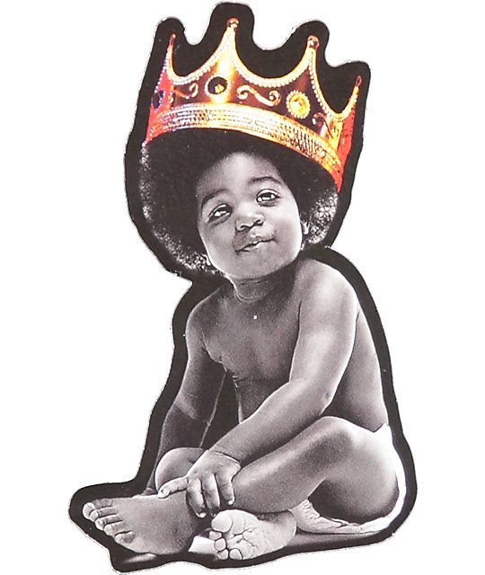 Hynoptize Notorious Baby Crown Sticker Zumiez Notorious Big Tattoo Biggie Smalls Art Baby Crown Are you searching for cartoon crown png images or vector? hynoptize notorious baby crown sticker