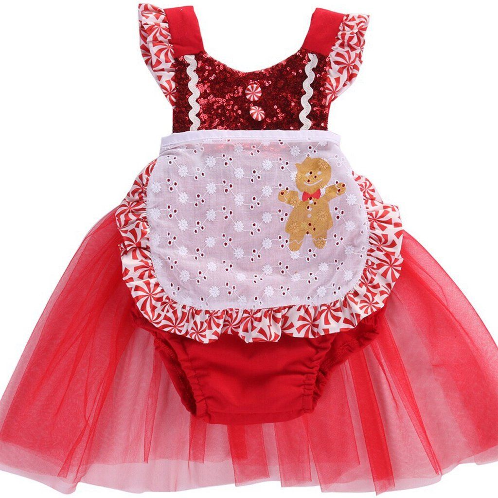 Christmas Mermaid Tail Mrs Clause Romper  Products Rompers and