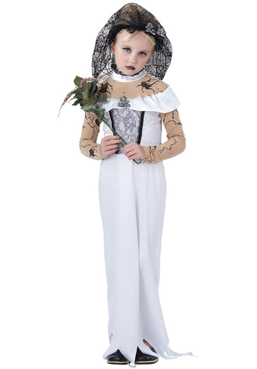 Kids Zombie Bride Costume - Child Halloween Costumes at Escapade™ UK ...