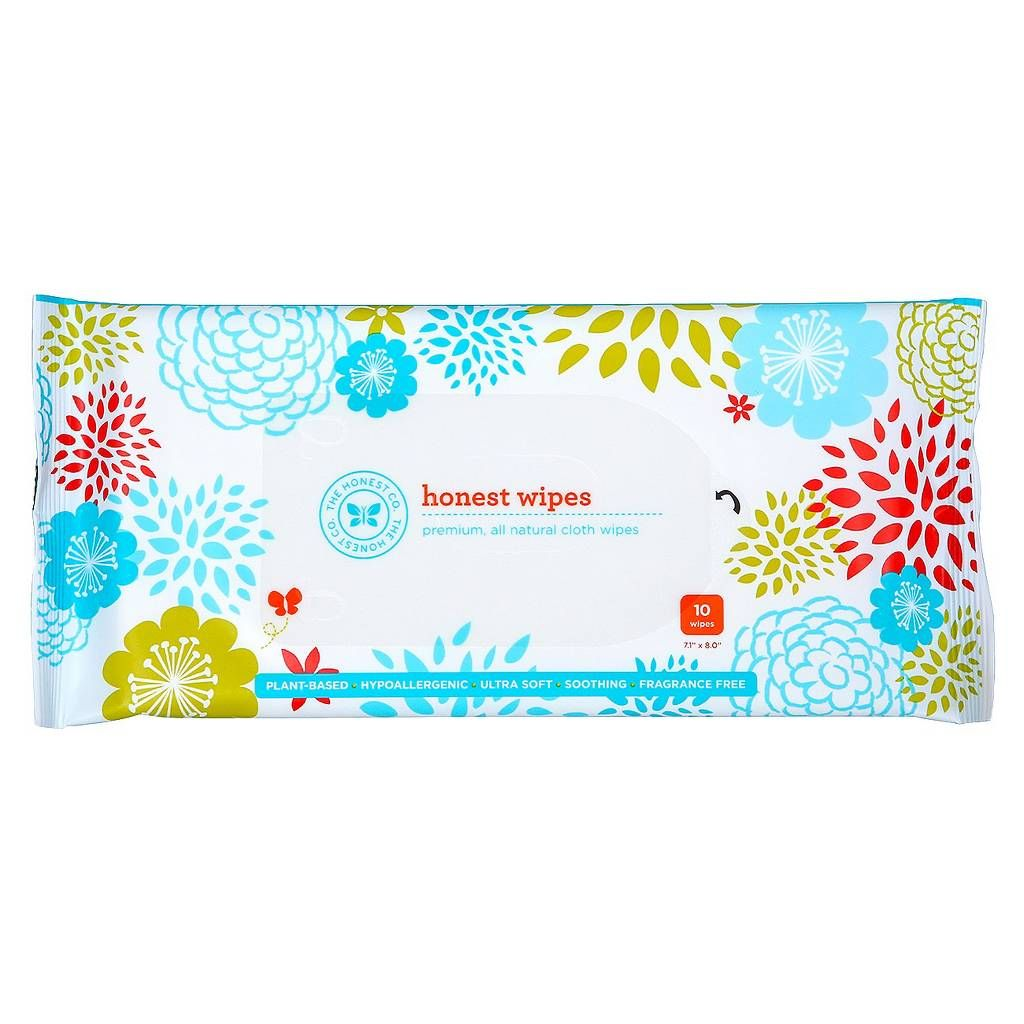 Honest Company Wipes - 10 Count. Image 1 of 5.