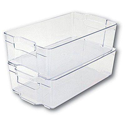 Mondex Pls275 00 Boite De Rangement Pour Refrigerateur Plastique Transparent 37 X 21 5 X 10 Cm 8 L Amazon Fr Rangement Refrigerateur Rangement Rangement Frigo