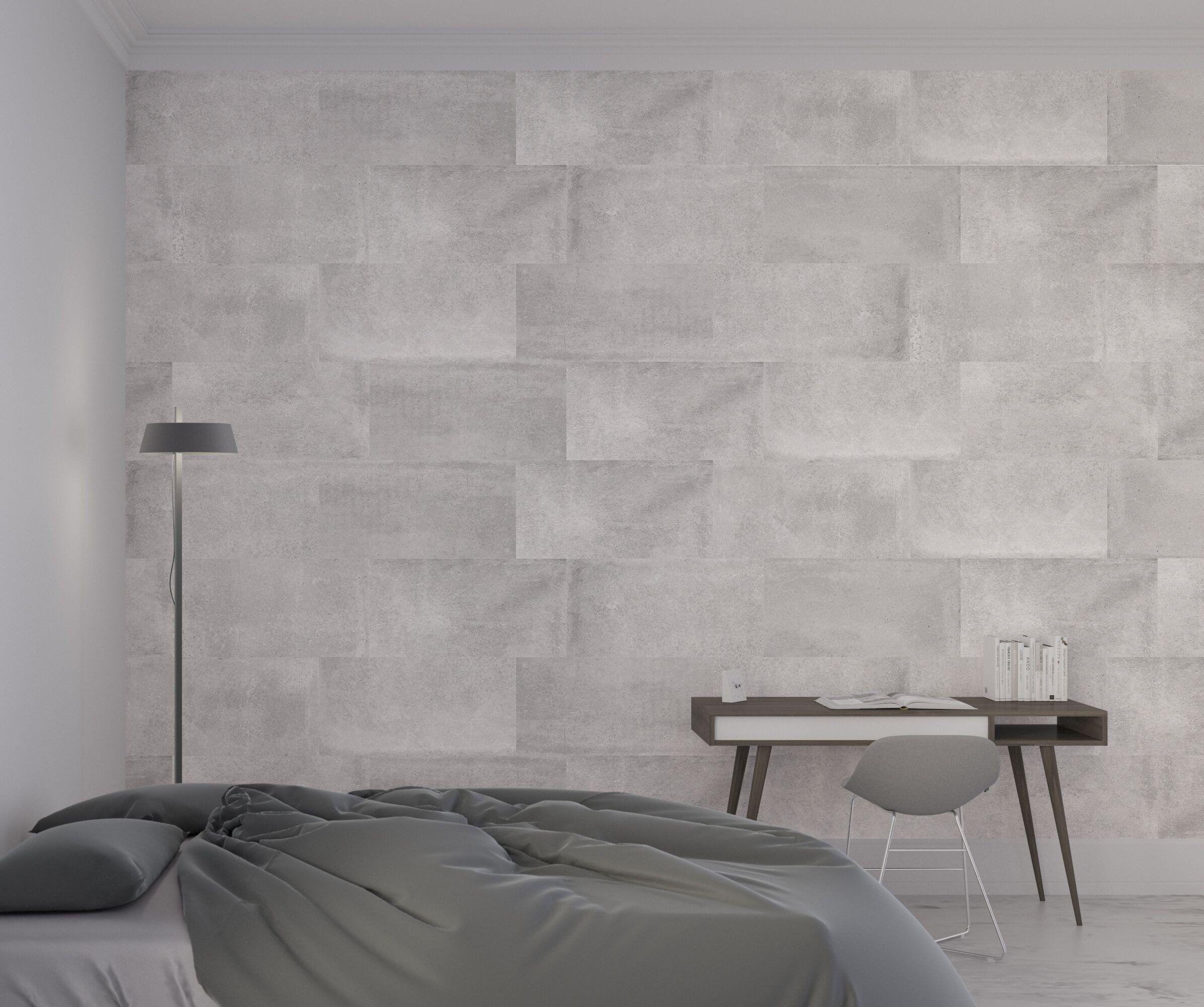 Urban Grey Concrete Effect Porcelain Tile Concrete Wall Texture Wall And Floor Tiles Concrete Tiles Bathroom