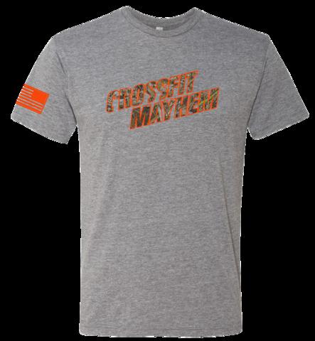 Realtree Mayhem Tee Grey Mens Shirts Mens Tops Tees