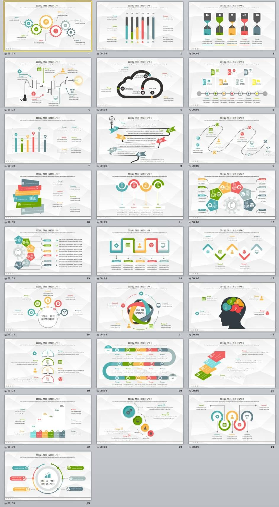 25 Chart Slides Powerpoint Templates Powerpoint Templates