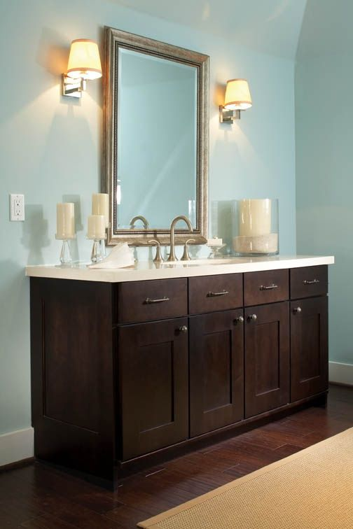 vanity: Bristol Maple, Espresso @Wellborn Cabinet Inc. in ...