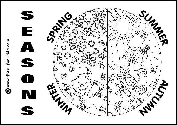 Ausmalbilder Jahreszeiten Ausmalbilder Fur Kinder Jahreszeiten Arbeitsblatt Ausmalbilder Jahreszeiten