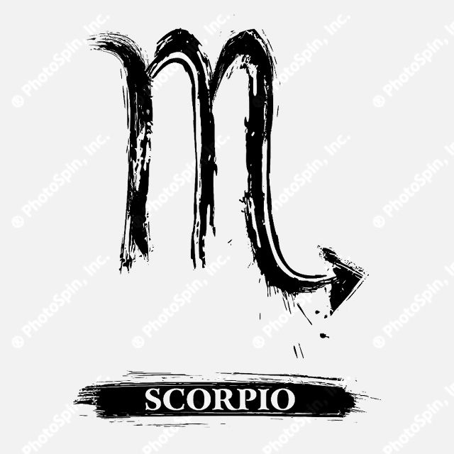 Scorpio Astrological Symbols Scorpio Horoscope Symbol Raindrops On