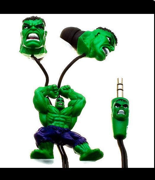 Mary Sue Joaquin: The Hulk! I Love These!!