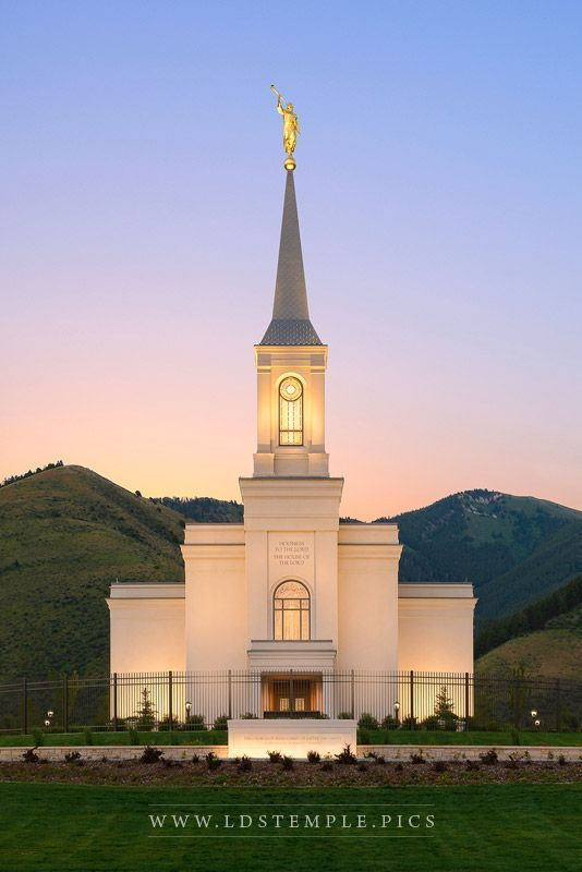 Star Valley Temple Morning Glow Lds Temple Pictures Lds Temple Pictures Lds Temples Temple Pictures