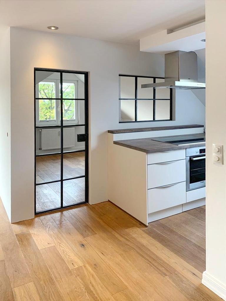Photo of Tür und Fenster im Bauhaus Look