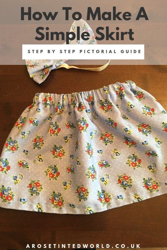 Making a Simple Skirt ⋆ A Rose Tinted World-making-a-simple-skirt